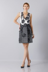 Drexcode - Silk and mohair dress - Alberta Ferretti - Sale - 7