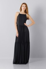 Drexcode - Black dress - Vera Wang - Rent - 4