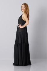 Drexcode - Black dress - Vera Wang - Rent - 6