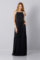Drexcode - Black dress - Vera Wang - Rent - 1