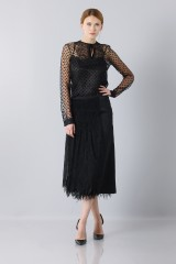 Drexcode - Longuette skirt of tulle - Rochas - Sale - 2