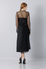 Drexcode - Longuette skirt of tulle - Rochas - Sale - 4