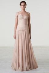 Drexcode - Nude one-shoulder dress - Iris Noble - Rent - 2