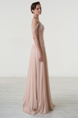 Drexcode - Nude one-shoulder dress - Iris Noble - Rent - 4