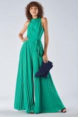 Drexcode - Jumpsuit with pleated leg - Halston - Sale - 1