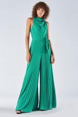 Drexcode - Jumpsuit with pleated leg - Halston - Sale - 2