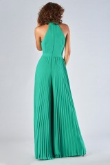 Drexcode - Jumpsuit with pleated leg - Halston Heritage - Rent - 3