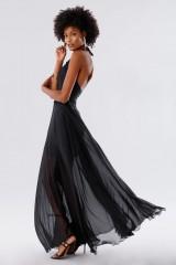 Drexcode - Black dress with neck tie - Kathy Heyndels - Rent - 3