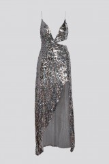 Drexcode - Long sequined dress with side cut-outs - For Love and Lemons - Rent - 9