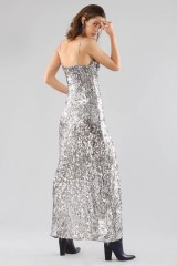 Drexcode - Long sequined dress with side cut-outs - For Love and Lemons - Rent - 6