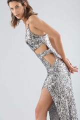 Drexcode - Long sequined dress with side cut-outs - For Love and Lemons - Rent - 2