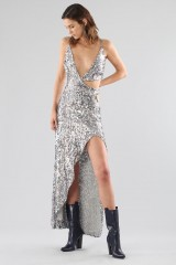 Drexcode - Long sequined dress with side cut-outs - For Love and Lemons - Rent - 8