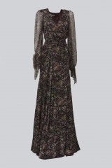 Drexcode - Long wrap dress with floral pattern - Luisa Beccaria - Rent - 7