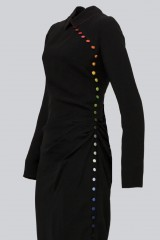 Drexcode - Long dress with colorful buttons - Marco de Vincenzo - Rent - 4