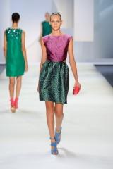 Drexcode - Floreal patterned dress - Monique Lhuillier - Sale - 3