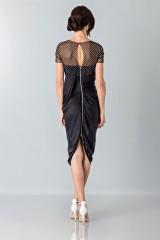 Drexcode - Plumetis and micro-polka dot dress - Blumarine - Sale - 2