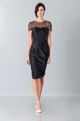 Drexcode - Plumetis and micro-polka dot dress - Blumarine - Sale - 1