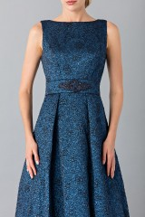 Drexcode - Light blue dress with detail at the waist - Theia - Sale - 5