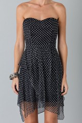 Drexcode - Bustier dress with polka dots - Blumarine - Rent - 7
