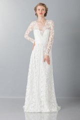 Drexcode - Lace wedding dress - Alberta Ferretti - Rent - 1