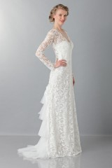 Drexcode - Lace wedding dress - Alberta Ferretti - Rent - 4