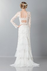 Drexcode - Lace wedding dress - Alberta Ferretti - Rent - 2