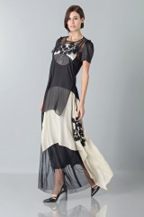 Drexcode - Layered sheer gown - Antonio Marras - Rent - 4