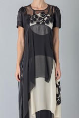 Drexcode - Layered sheer gown - Antonio Marras - Rent - 7