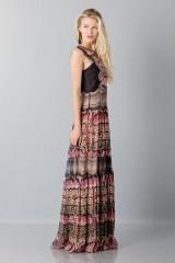 Drexcode - Silk and lace chiffon dress - Alberta Ferretti - Rent - 6