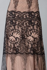 Drexcode - Long dress with lace decorations - Alberta Ferretti - Sale - 7