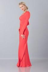 Drexcode - Floor-length dress with deep neck - Vionnet - Sale - 4