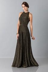 Drexcode - Dress with gold textures - Vionnet - Sale - 3