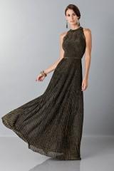 Drexcode - Dress with gold textures - Vionnet - Sale - 1