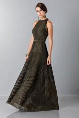Drexcode - Dress with gold textures - Vionnet - Sale - 5