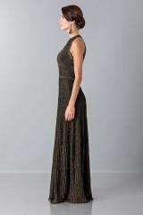 Drexcode - Golden textures dress - Vionnet - Rent - 6