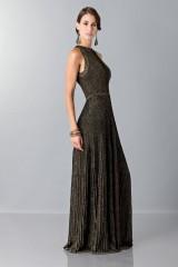 Drexcode - Golden textures dress - Vionnet - Rent - 4