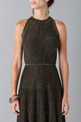 Drexcode - Golden textures dress - Vionnet - Rent - 7