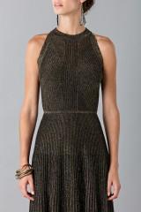 Drexcode - Dress with gold textures - Vionnet - Sale - 7