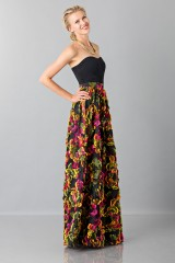 Drexcode - Skirt with floral appliquè - Blumarine - Sale - 3