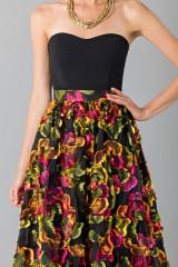 Drexcode - Skirt with floral appliquè - Blumarine - Sale - 4