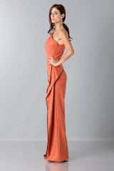 Drexcode - Jumpsuit with side drape - Vionnet - Rent - 5
