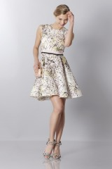 Drexcode - Printed silk dress - Giambattista Valli - Sale - 2