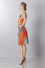 Drexcode - Floreal jacquard dress - Antonio Berardi - Rent - 3