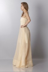 Drexcode - Ivory bustier dress - Rochas - Rent - 3