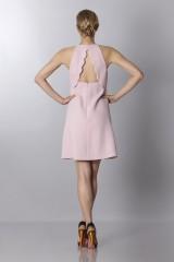 Drexcode - Crepe dress with metal belt - Giambattista Valli - Sale - 2