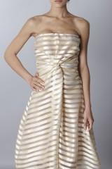 Drexcode - Golden stripes long dress - Vionnet - Rent - 5