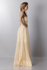 Drexcode - Ivory bustier dress - Rochas - Rent - 4