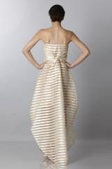 Drexcode - Golden stripes long dress - Vionnet - Rent - 2