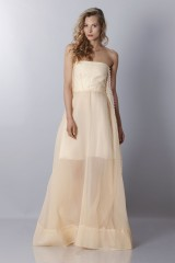 Drexcode - Ivory bustier dress - Rochas - Rent - 5