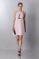 Drexcode - Crepe dress with metal belt - Giambattista Valli - Sale - 1